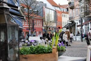 City centre of Hillerød. Photo: VisitNordsjaelland.dk
