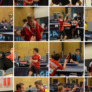 gallery of Danish International youth table tennis tournament